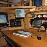 Штурманское место, оно же – стол капитана