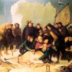 Смерть Баренца, картина 1836 г.