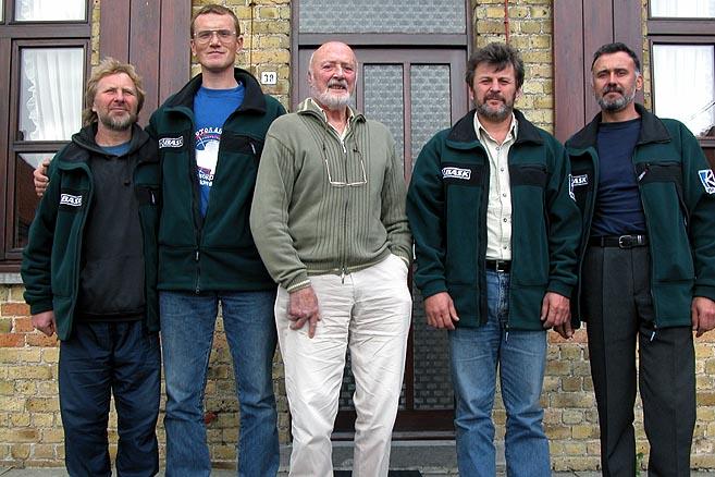 Экипаж «Апостола Андрея» был приглашен в дом яхтенного патриарха Вилли де Рооса