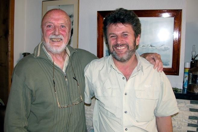 Вилли де Роос и Николай Литау – два полярных капитана