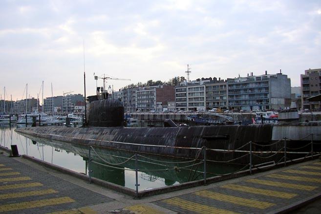 Подводная лодка Б-21 проекта 641 (класс Foxtrot) стала бельгийским музеем