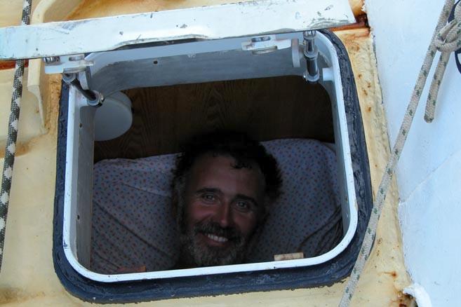 Если старпом спит с открым окном, значит до Антарктиды еще далеко