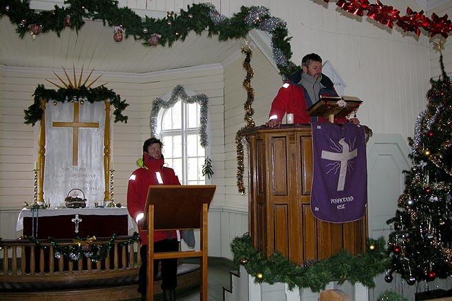Балымов и Литау: репетиция рождественской службы