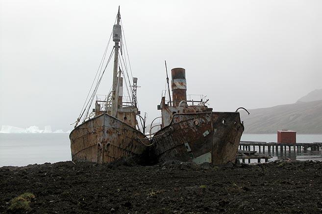 Теперь брошенные китобойные базы превращаются в музеи