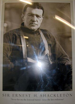 В Грютвикене похоронен исследователь Антаркики Эрнест Шеклтон