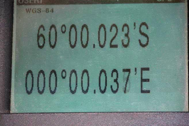 8 января 2005 г. «Апостол Андрей» параллель 60° ю.ш. – границу Антарктики