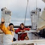 Новый капитан-наставник Аркадий Гершуни (слева)