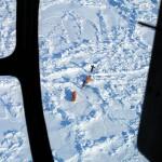 Казалось, что впереди каких-то 80 км твердого льда.