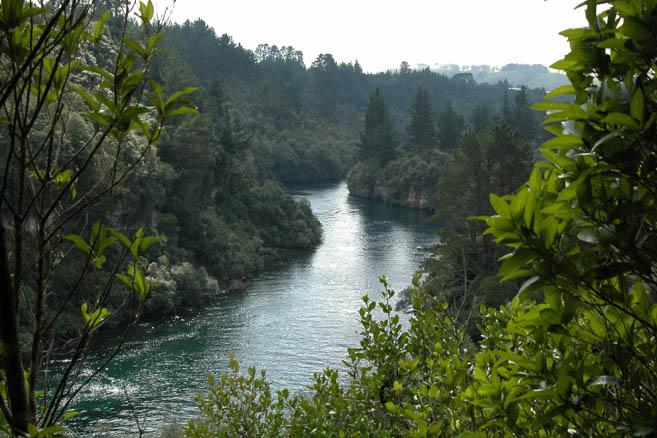 Река Уаикато