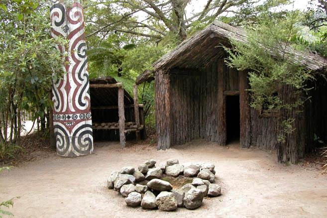 Мараэ – площадка для деревенских церемоний
