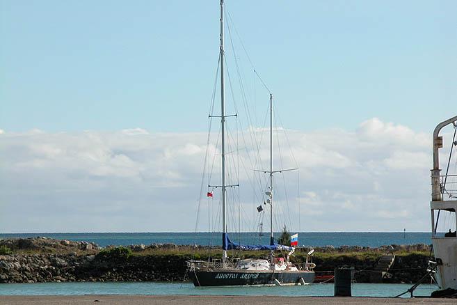 19 мая 2005 года «Апостол Андрей» прибыл к островам Королевства Тонга