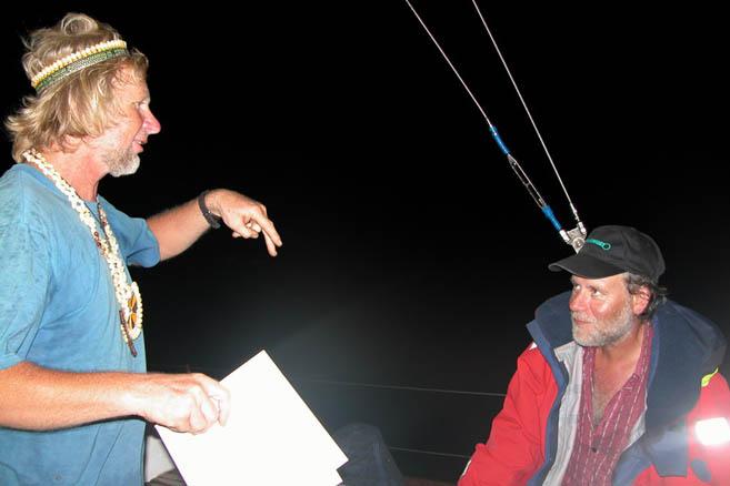6 июня 2005 года. Нептун Тихоокеанский требует прыгать за борт добровольно.