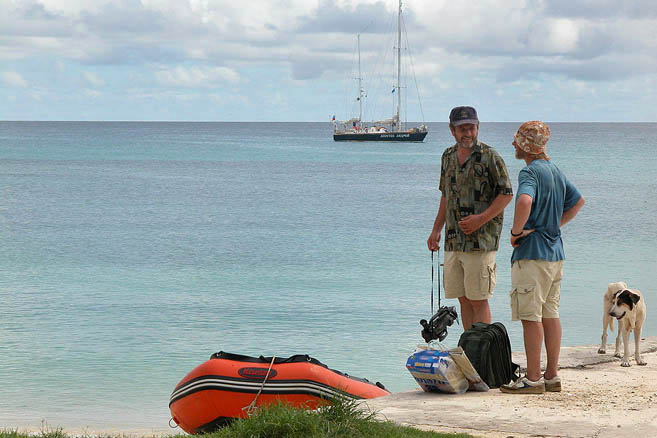 Тарава – столичный атолл Республики Кирибати