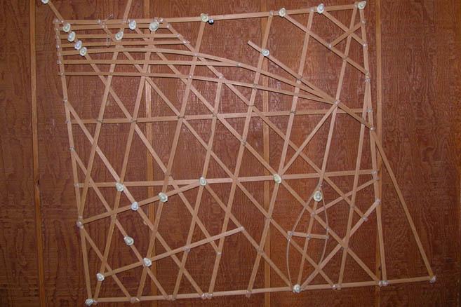 Полинезийские прутиковые морские карты-wappepe