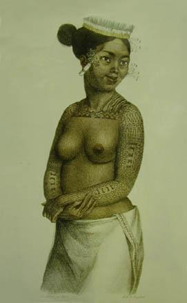 Полинезийская королева красоты
