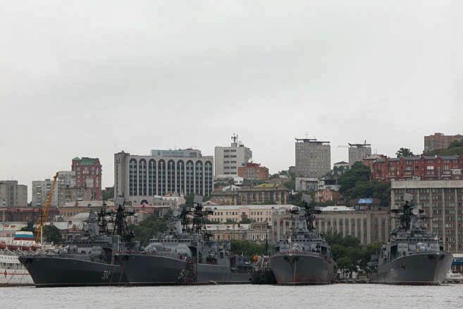 Город в начале русской земли