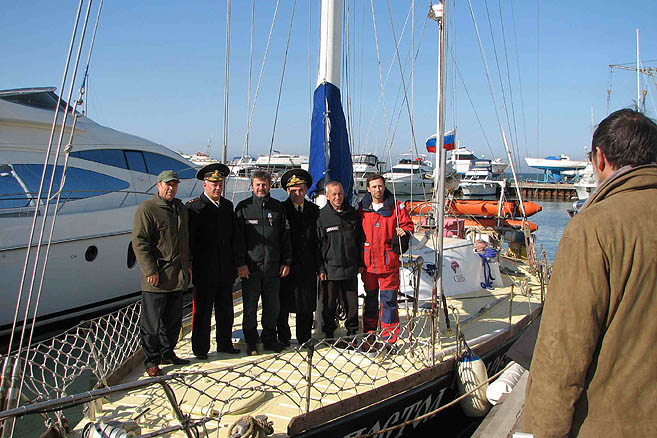 23 октября «Апостол Андрей» взял курс на Антарктиду