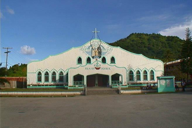 Атолл Трук. Христианская церковь