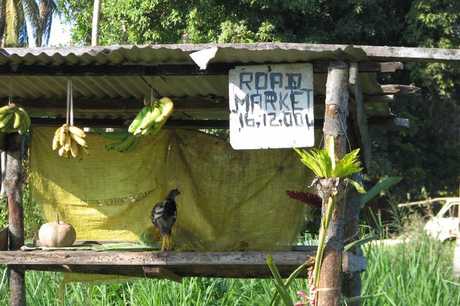 Вануатский придорожный ларек