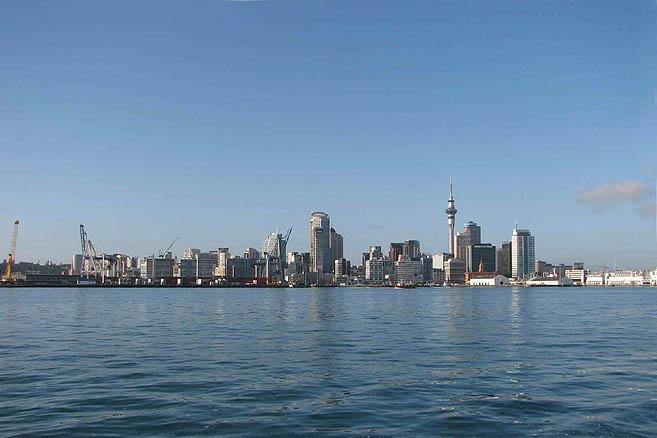 Окленд – крупнейший город Новой Зеландии