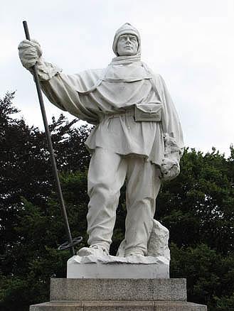 Памятник Роберту Скотту