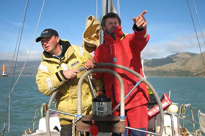 Капитан Литау рулевому Рудневу: в Антарктиду – это налево!