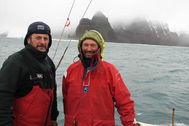 Четыре года назад капитан Литау пробиться к острову Петра I так и не смог