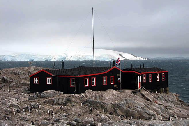 Станция-музей Порт Локрой разместилась на небольшом островке Гудье
