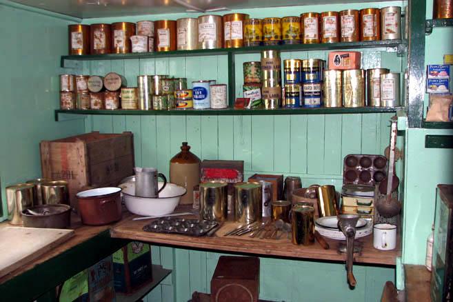 Кухня тоже музейный экспонат