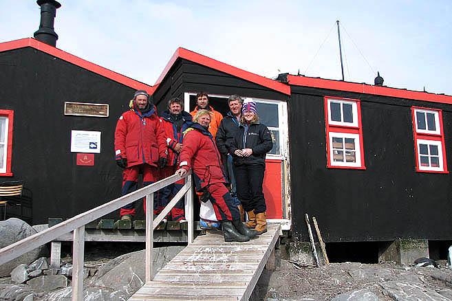 Яхтсмены и полярники