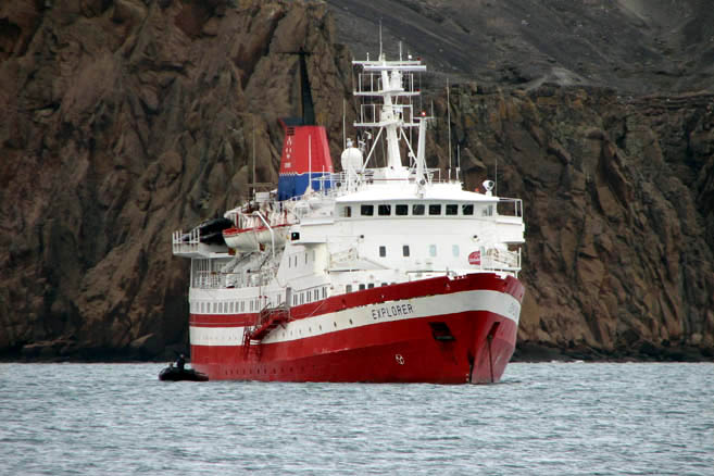 Десепшен – популярнейшая антарктическая достопримечательность