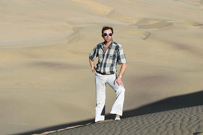 Пустыня Намиб и Михаил Каптюг