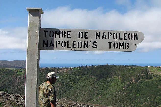«К могиле Наполеона»