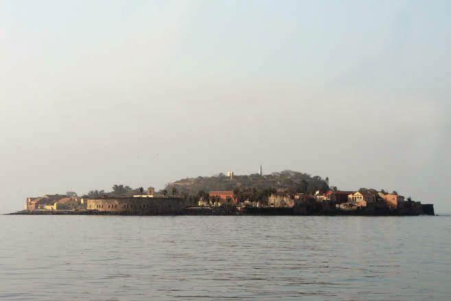 Дакар со стороны океана
