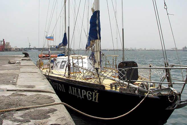 Переход остров Вознесения – Дакар занял две недели