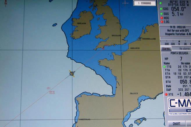 Последний океанский переход «Апостола Андрея» завершился 5 июля 2006 года