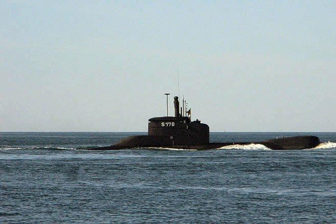 Через полгода германская субмарина S178 будет списана и пущена на слом