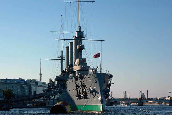 Прием в честь «апостольцев» был устроен на крейсере «Аврора»
