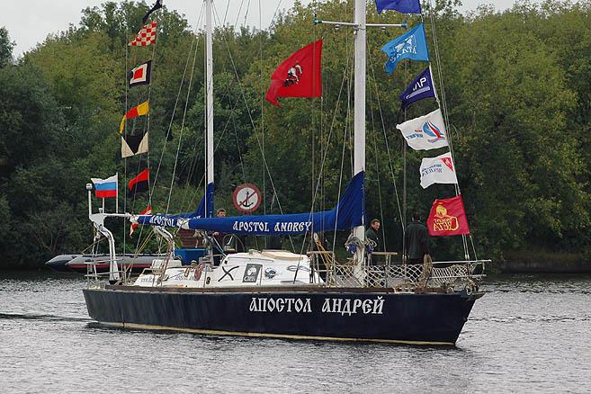 Москва – порт-приписки яхты «Апостол Андрей»