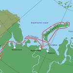 Маршрут экспедиции 2010 года