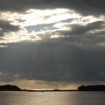 Закат над Соловками