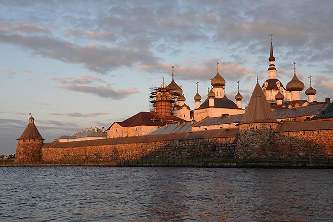 16 июля 2010 г. «Апостол Андрей» пришел на Соловки