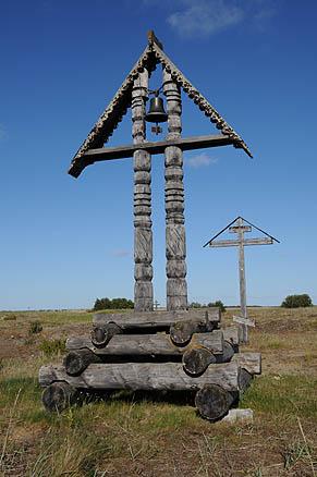В Пустозерске отбывал ссылку и был сожжен раскольник протопоп Аввакум