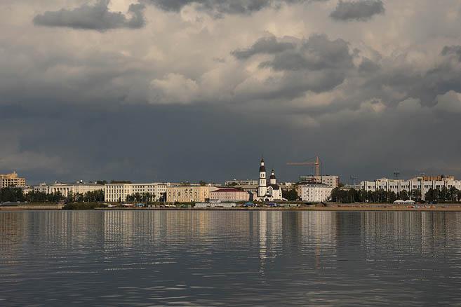 Входим в Архангельск