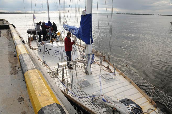 31 августа «Апостол Андрей» завершила 4-ю арктическую навигацию