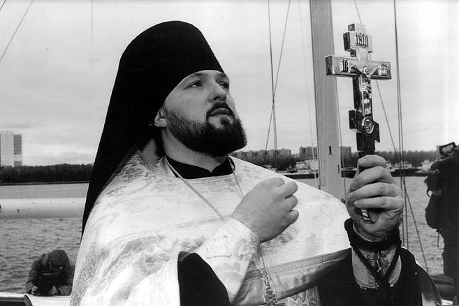 23 сентября 1996 г. Москва. Церемония наречения и освящения