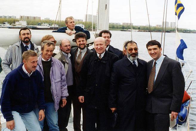 23 сентября 1996 г. Северный речной порт Москвы