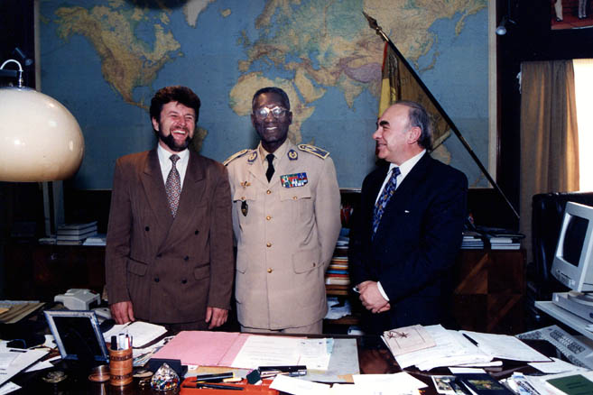 Встреча с Главнокомандующим ВМС Сенегала