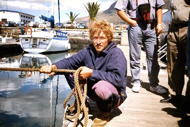 В апреле 1997 г. «Апостол Андрей» прибыл в Кейптаун