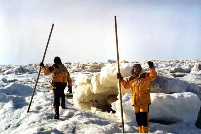 Попытка найти выход из ледовой ловушки